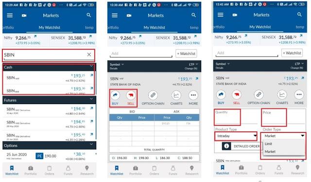 Angel Broking trading App
